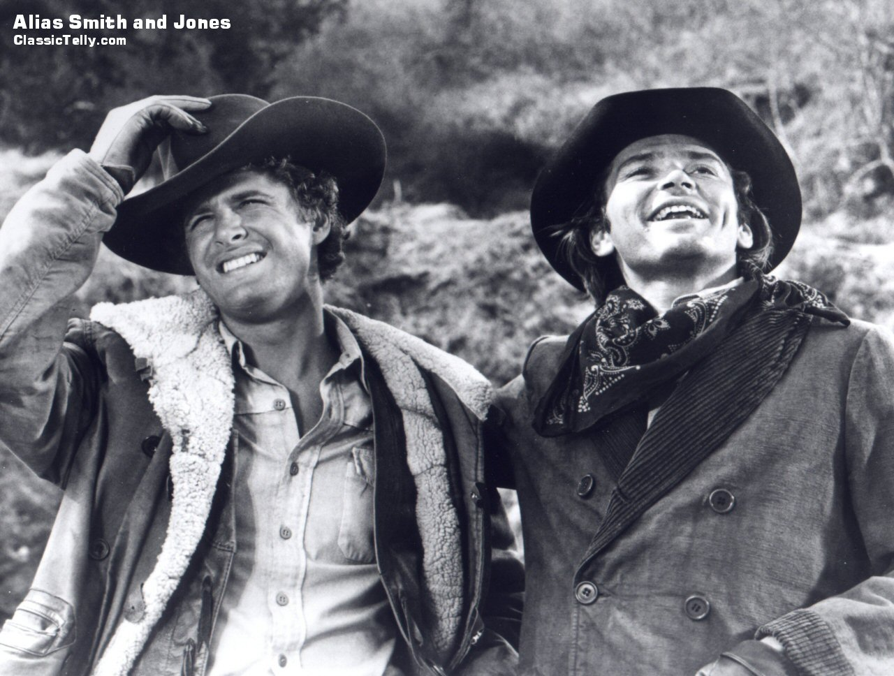 Classic Telly Alias Smith and Jones Desktop Wallpaper
